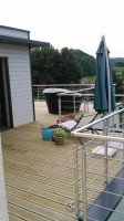 cr�ation d'une toiture terrasse accessible